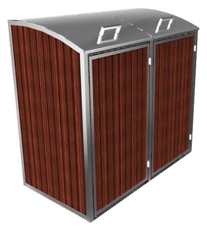 m lltonnenbox alice metallbau penkalla m lltonnenverkleidung. Black Bedroom Furniture Sets. Home Design Ideas