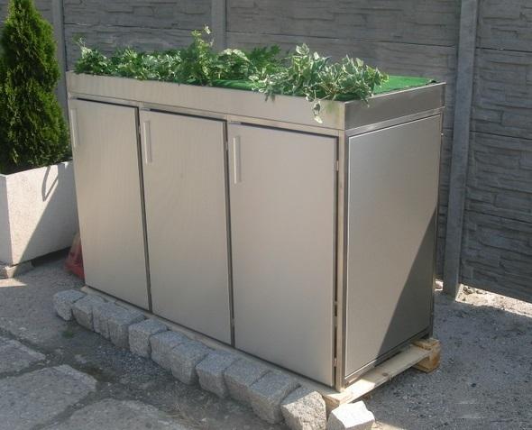 Mülltonnenverkleidung Flora