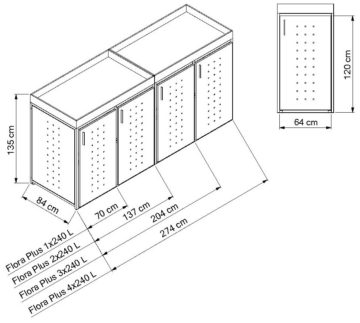 m lltonnenbox flora metallbau penkalla m lltonnenverkleidung. Black Bedroom Furniture Sets. Home Design Ideas